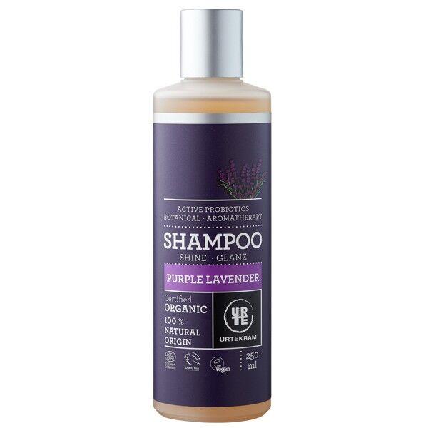 Urtekram Shampoing à la Lavande Purple - Cheveux normaux à secs