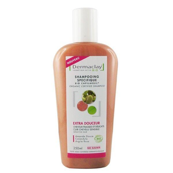 Dermaclay Shampoing douceur à l'argile 250ml – Cuir chevelu sensible