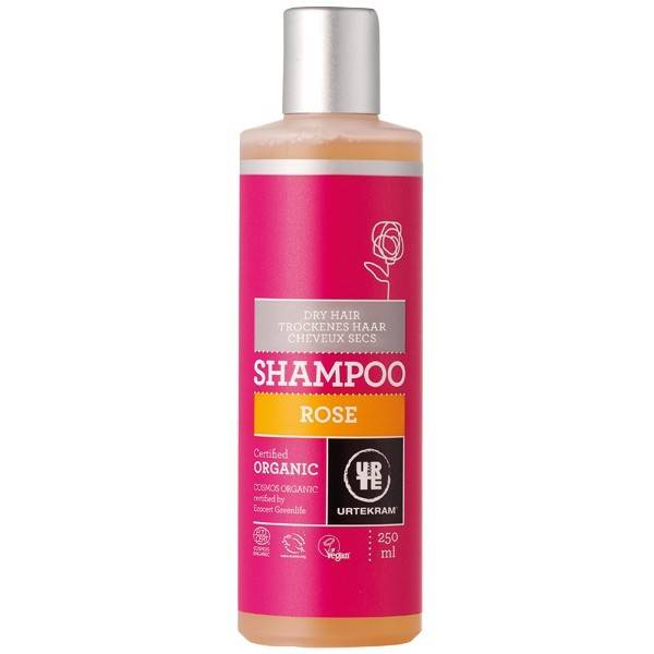 Urtekram Shampoing à la Rose - Cheveux secs