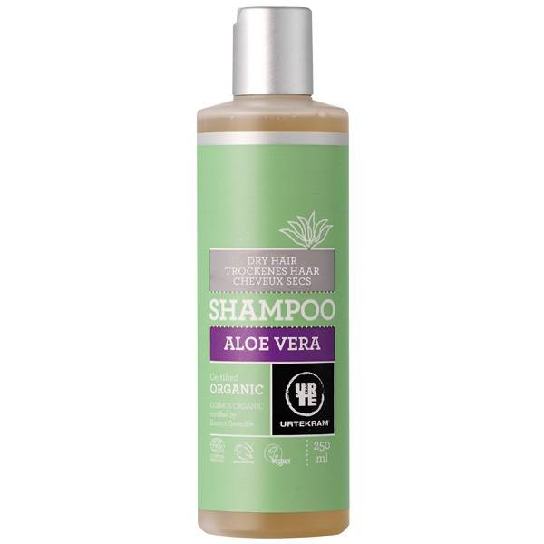 Urtekram Shampoing à l'Aloé Véra - Cheveux secs et abîmés