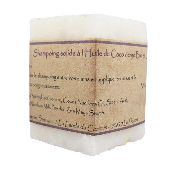 Savonnerie Sativa Shampoing solide Universel 55 gr - Pour toute la famille