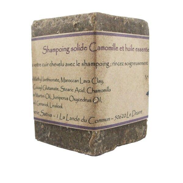 Savonnerie Sativa Shampoing solide Anti-pellicule 55 gr - Cèdre Atlas Bio