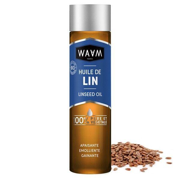 WAAM Cosmetics Huile de Lin Bio 100 ml - Gainante
