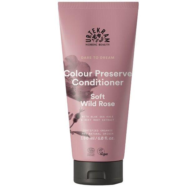 Urtekram Après-Shampoing doux à la Rose Sauvage - Cheveux Colorés 180ml