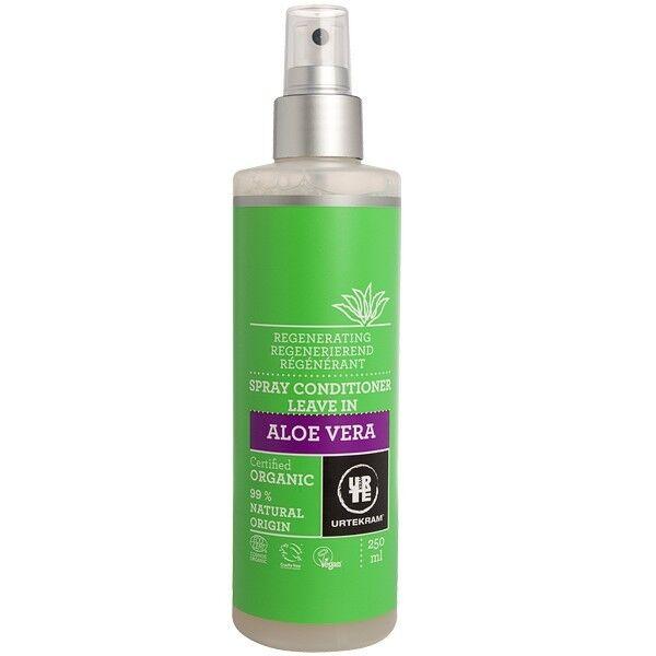 Urtekram Spray Après-Shampoing à l'Aloe Vera 250 ml - Régénérant