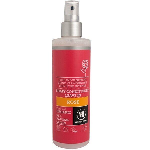 Urtekram Spray Après-Shampoing à la Rose de Damas 250 ml - Adoucissant