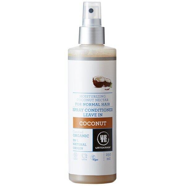 Urtekram Spray Après-Shampoing à la noix de coco 250 ml - Hydratant