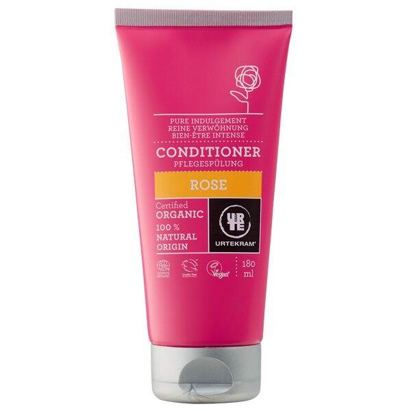 Urtekram Après-shampoing à la Rose 180 ml - Tous types de cheveux
