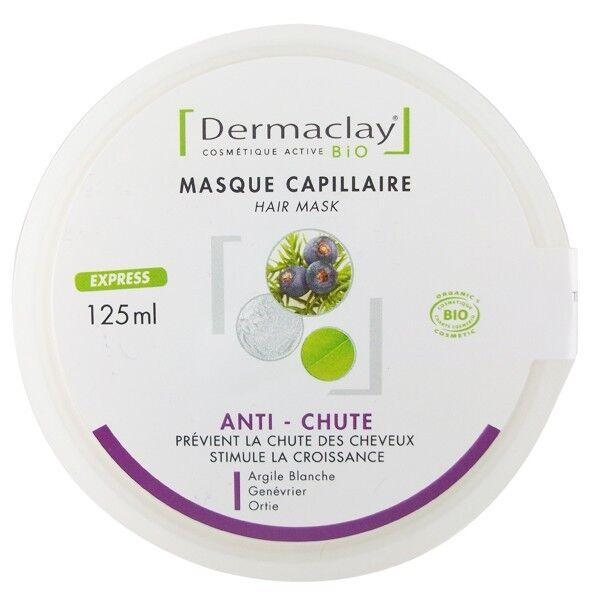 Dermaclay Masque Capillaire Anti-Chute 125 ml - Stimule la croissance