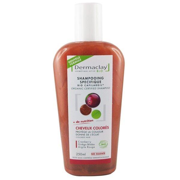 Dermaclay Shampoing à l'Argile 250 ml - Cheveux Colorés ou Décolorés