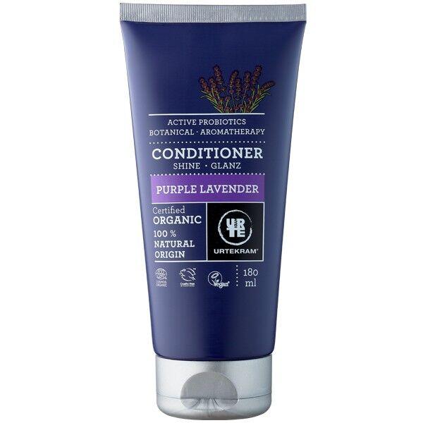 Urtekram Après-shampoing à la Lavande Purple 180 ml - Cheveux normaux à secs