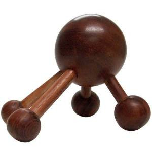 inenuy beauty Boule en bois 4 points de massage – Dos - Publicité