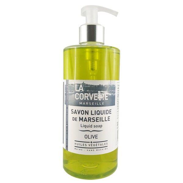 La Corvette - Savon de Marseille Savon de Marseille liquide 500 ml - Olive