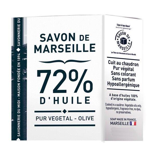 La Corvette - Savon de Marseille Savon de Marseille - 72% Huile végétale