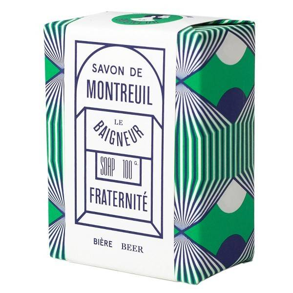 Le Baigneur Savon Fraternité 100gr - Bière et Farine d'Orge