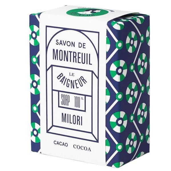 Le Baigneur Savon Milori 100gr - Beurre de Cacao cru et Argile Ghassoul
