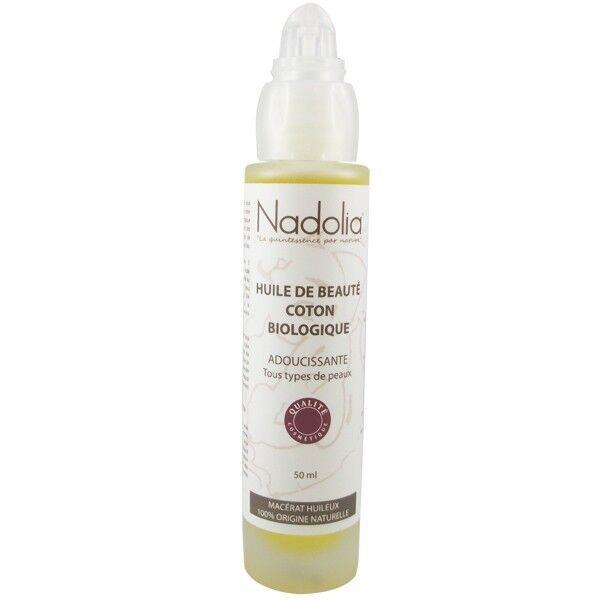 Nadolia Huile de Coton Bio 50 ml - Adoucissante et Apaisante