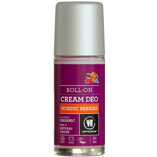 Urtekram Crème Déodorante à Bille - Baies Nordiques
