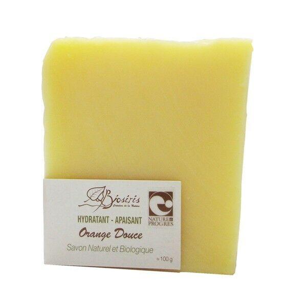 Biosiris Savon doux à l'orange Douce 100gr - Hydratant et Apaisant