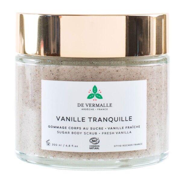 de Vermalle Gommage corps au sucre 200 ml - Vanille tranquille