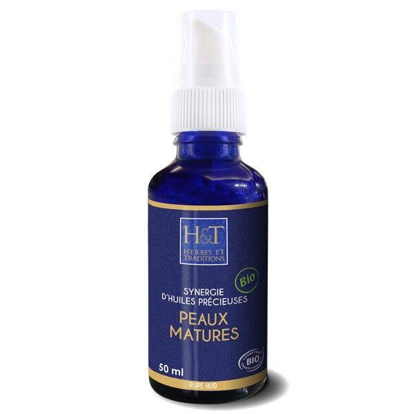 Herbes et Traditions Synergie végétale 50ml – Peaux matures