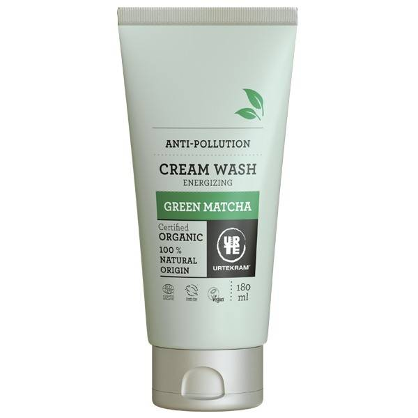 Urtekram Crème de douche Green Matcha 180 ml - Protection Anti-pollution