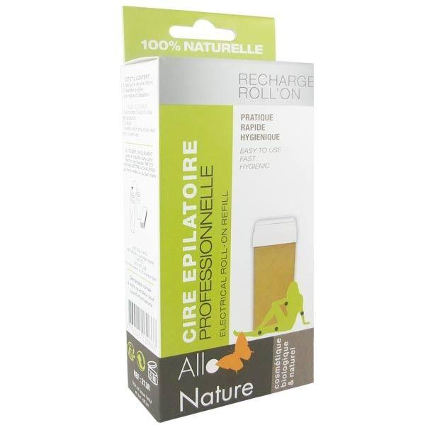 Allo Nature Recharge Roll-on Cire Épilatoire 100 ml + 10 bandes