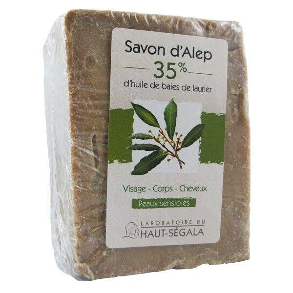 Laboratoire du Haut Ségala Savon Alep 35% - Peaux sèches et sensibles