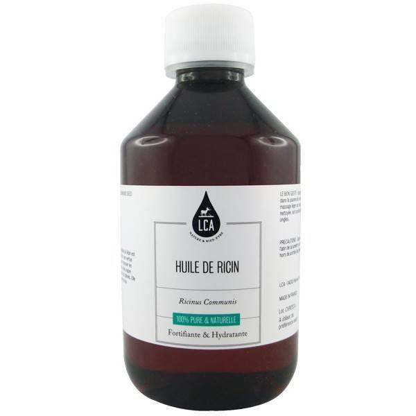 LCA - Combe d'Ase Huile de Ricin 100% pure et naturelle - Fortifiante