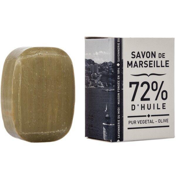 La Corvette - Savon de Marseille Savonnette de Marseille 50g - 72% Huile végétale