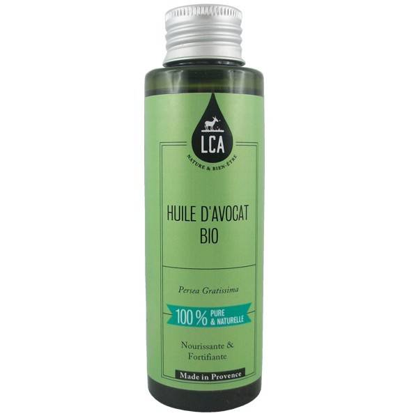 LCA - Combe d'Ase Huile d'Avocat Bio 100 ml - Élasticité et Confort