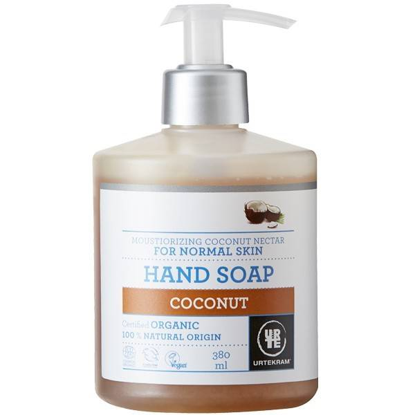 Urtekram Savon liquide Mains à la Noix de Coco 380ml - Nourrissant