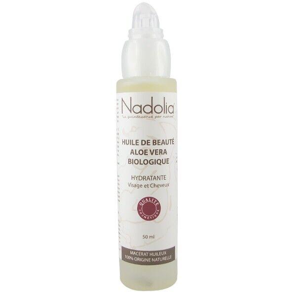 Nadolia Huile Aloe Véra bio 100% Pure - Visage et Cheveux