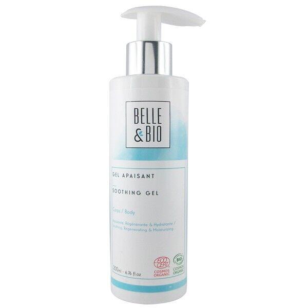 Belle et Bio Gel Hydratant Aloé véra 200 ml - Apaisant et Régénèrant