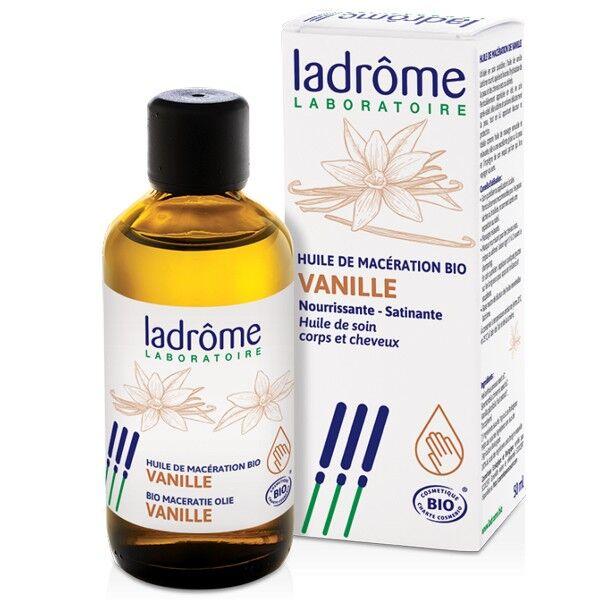 Ladrôme Huile de vanille Bio 50 ml - Nourrissante pour cheveux secs