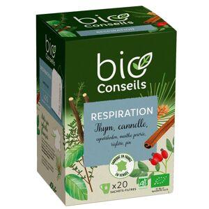 Nature & Santé Infusion Bio Respiration 20 sachets - Publicité