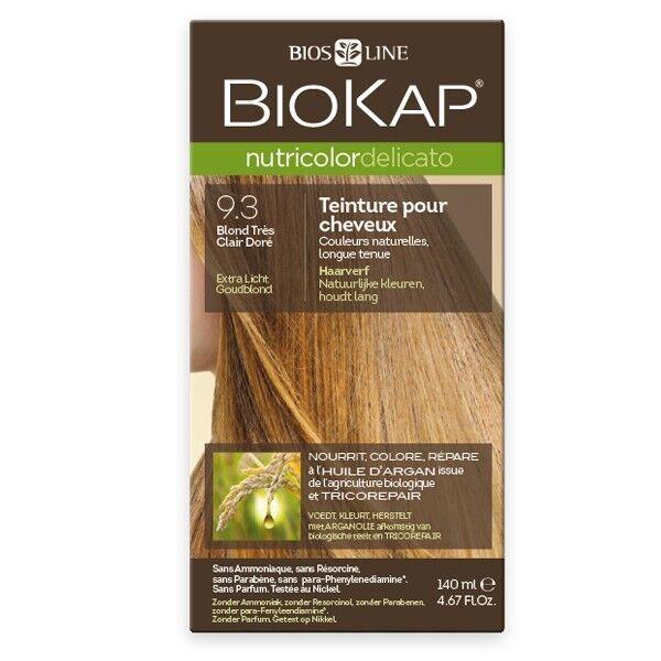 Biokap Coloration 9.30 Blond Très Clair Doré - Delicato