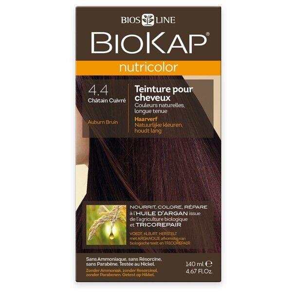 Biokap Coloration 4.4 Châtain Cuivré - Nutricolor
