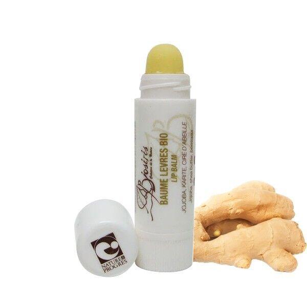 Biosiris Baume à lèvres 3.5ml - Anti Vieillissement Chanvre et Gingembre