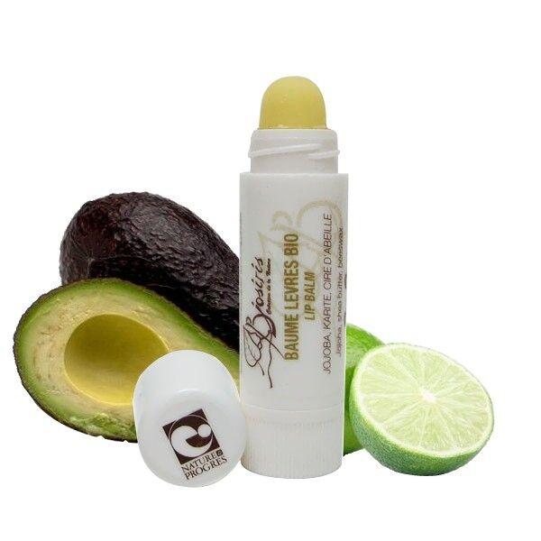 Biosiris Baume à lèvres 3.5ml - Protection Avocat et Citron vert