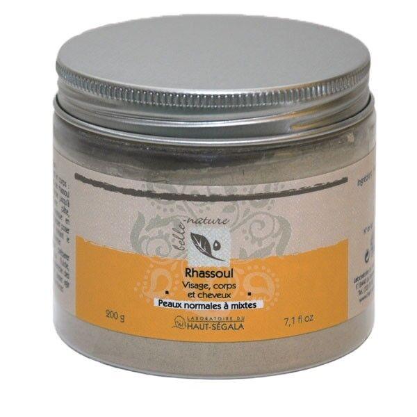 Laboratoire du Haut Ségala Rhassoul naturel en poudre - 200gr