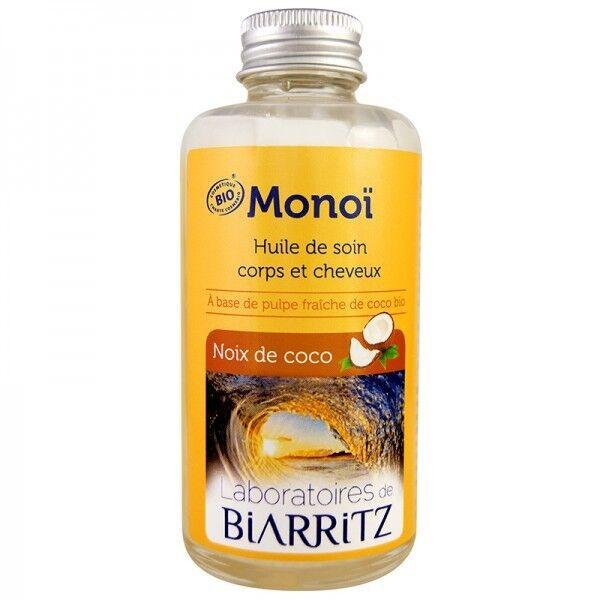 Laboratoires de Biarritz Huile de Monoï 100 ml - Noix de coco