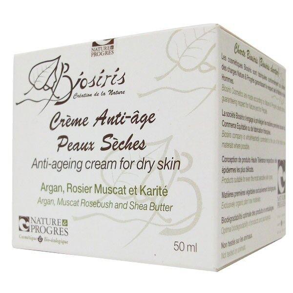 Biosiris Crème Anti-âge 50ml - Peaux Sèches et Sensibles