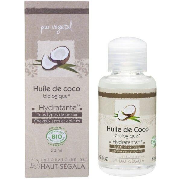 Laboratoire du Haut Ségala Huile de Noix de Coco Bio 100% Pure Vierge