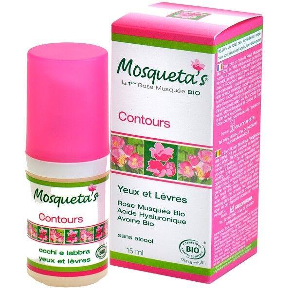 Mosqueta's Contours des Yeux et Lèvres 15ml - Rose Musquée