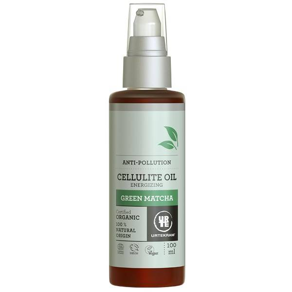 Urtekram Huile Corps Green Matcha 100 ml - Anti-cellulite
