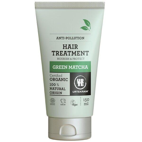 Urtekram Masque nutritif cheveux Green Matcha 150 ml - Protection Anti-pollution