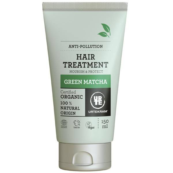 Urtekram Masque nutritif cheveux Green Matcha 150 ml - Énergisant