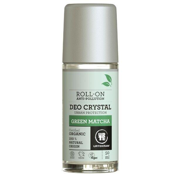 Urtekram Déodorant à bille Bio Green Matcha 50 ml - Énergisant