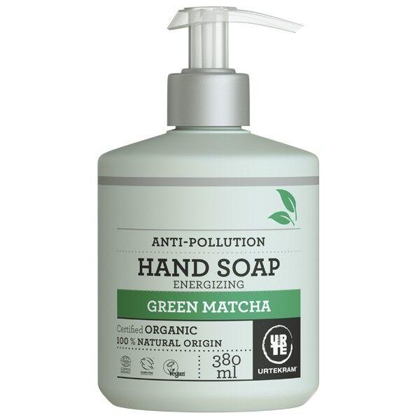 Urtekram Savon liquide Mains Green Matcha 380 ml - Énergisant